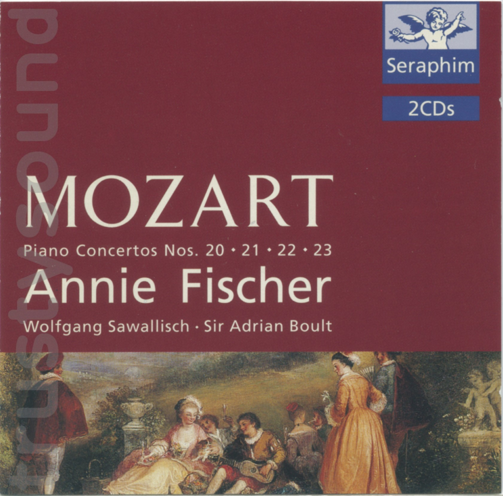 Trustysound: Products: Mozart Piano Concertos 20 To 23 Fischer